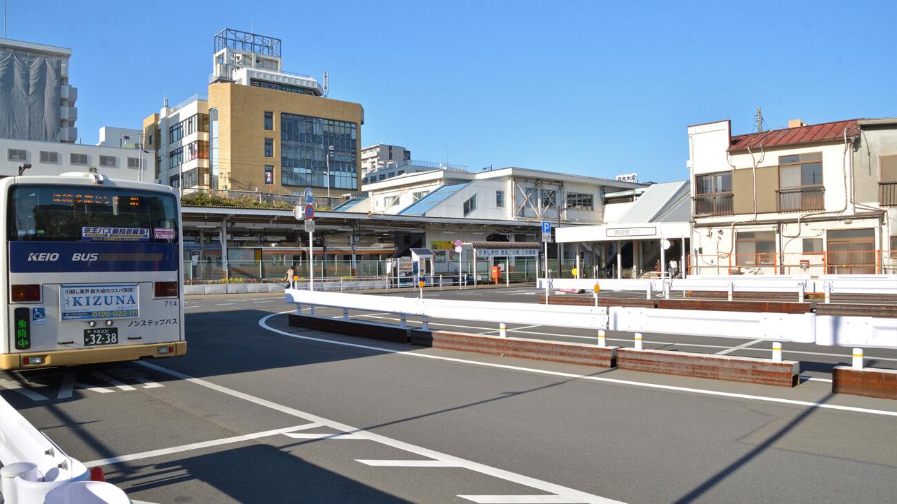 駅前の再開発が始まるとさらに魅力アップ