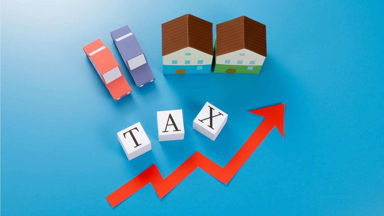 駐車場経営で発生する4つの税金
