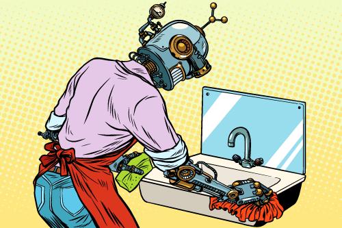 お掃除ロボットイメージ