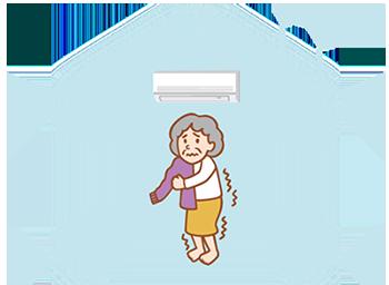 断熱性の低い日本の住宅