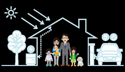 燃費性能の良い住宅