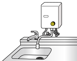 屋内式ガス瞬間湯沸器(都市ガス用・LPガス用)